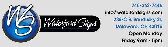 Waterford Signs Header R